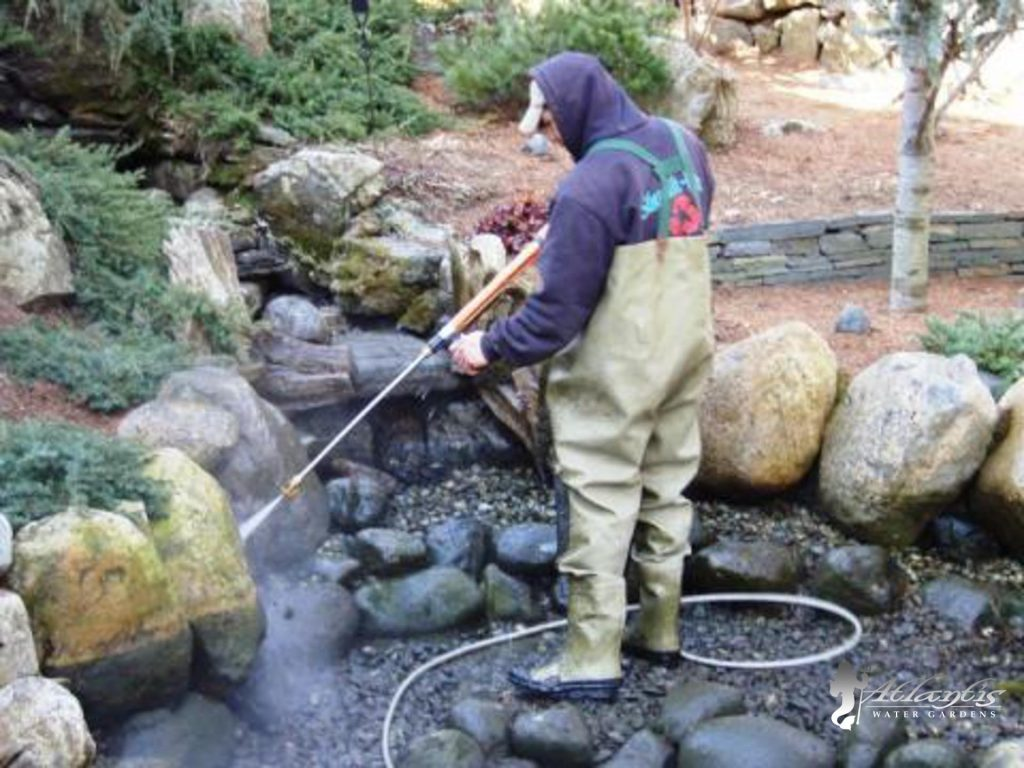 Pond & Waterfall Cleaning, Spring Cleanouts, Denville NJ
