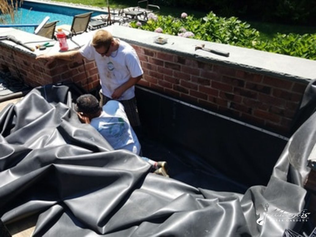 Pondless waterfall repair & Maintenance, Denville NJ