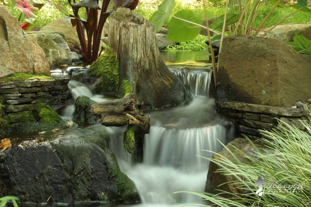 pondless waterfalls by Atlantis Water Gardens Denville NJ