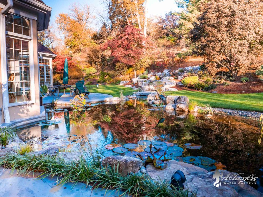Fall Maintenance and Shutdowns for water features