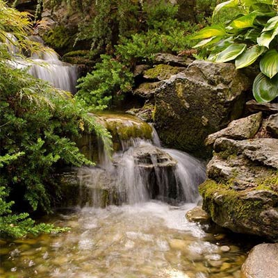 Pondless Waterfall by Atlantis Water Gardens